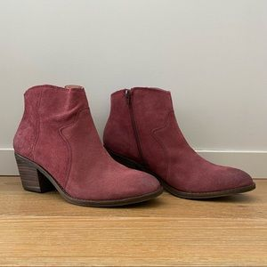 NWOB-Lucky Brand Marcos Western Bootie